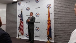 Maricopa County Republican Party 2nd VC Aaron Borders.